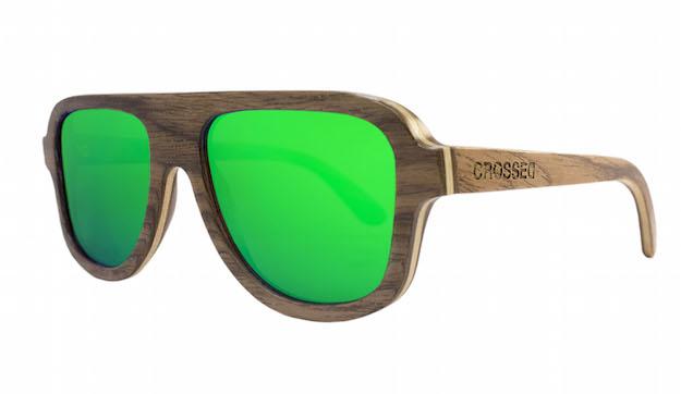 12dff99111 CROSSED | gafas de madera y denim polarizadas